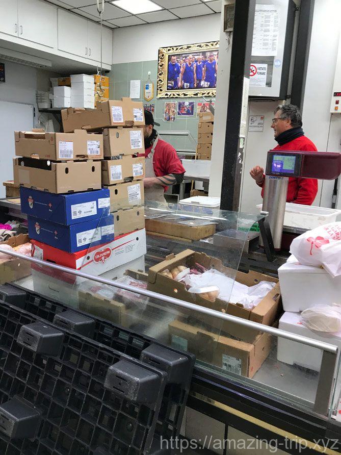 配送サービスの店舗