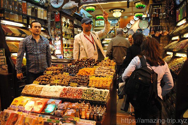 エジプシャンバザールの店舗