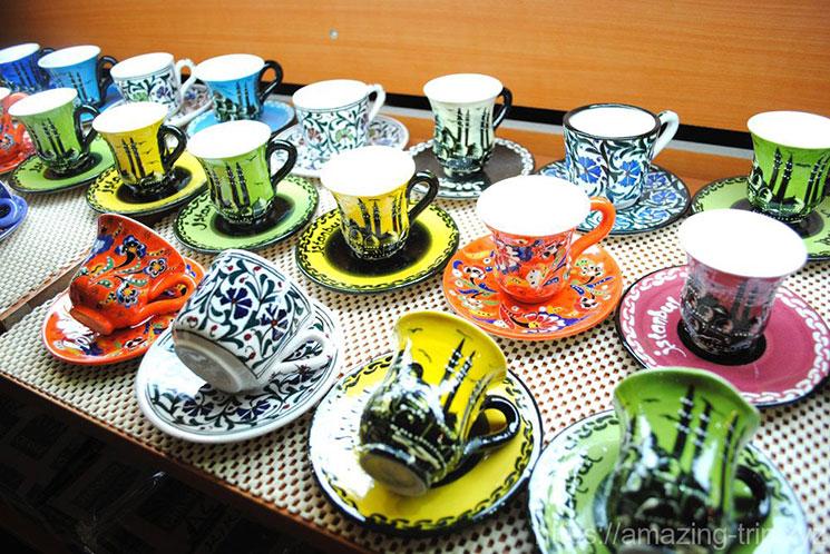 トルコ風のコーヒカップ