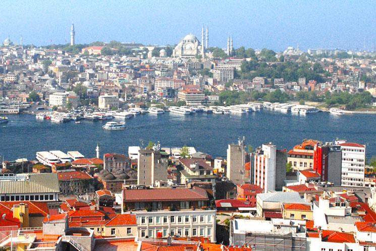 イスタンブール 旧市街の景観