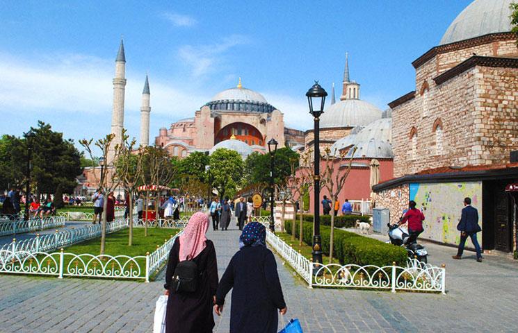 イスタンブール旧市街の景観