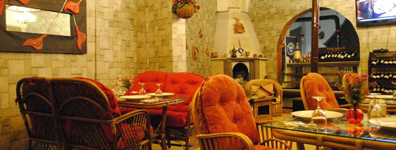 ギョレメレストラン「My Mother」店内の景観