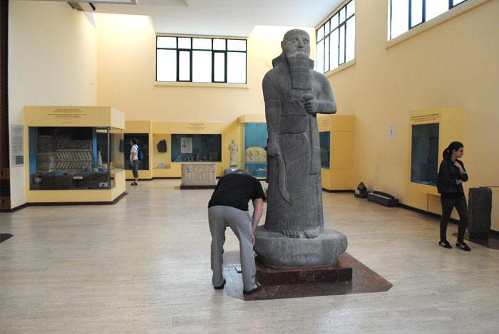 考古学博物館 内部の景観