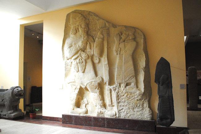考古学博物館の展示品