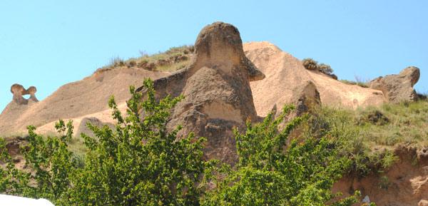 ナポレオン(の帽子)岩