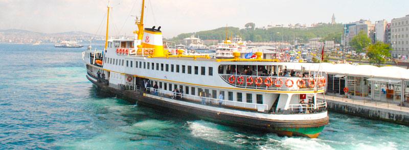 Sehir Hatlari社の船