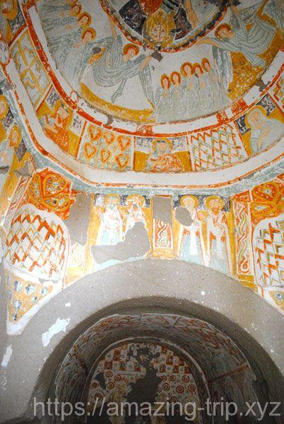 アーチアルトゥ教会 フレスコ画