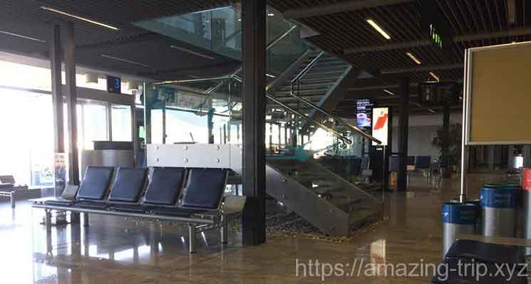 ドブロブニク空港のロビー