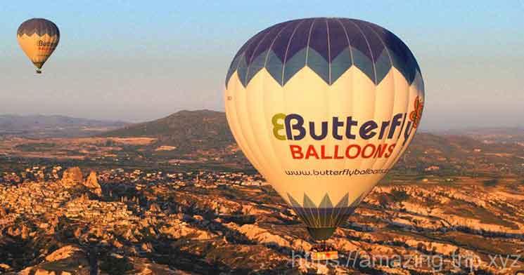 Butterfly Balloon(バタフライバルーン社の気球