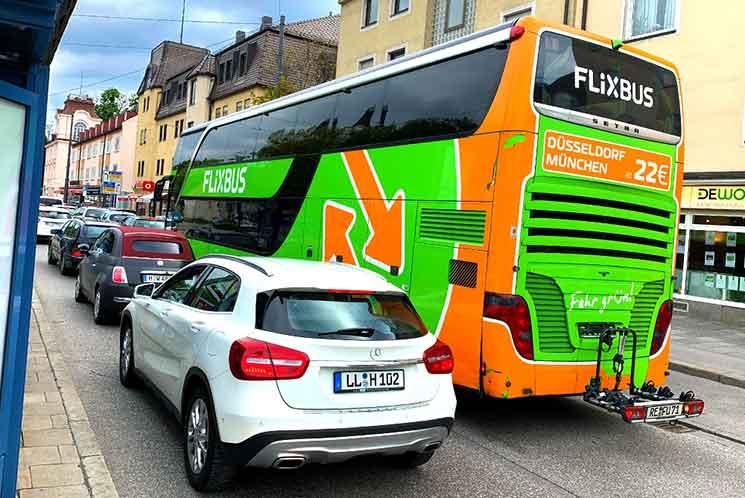 FlixBusのバス