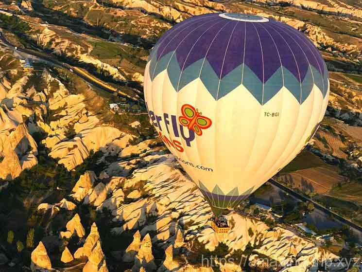 バタフライバルーン社の気球