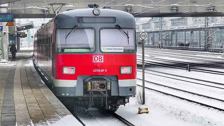 DBの列車