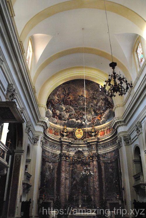 聖イグナチオ教会の内部