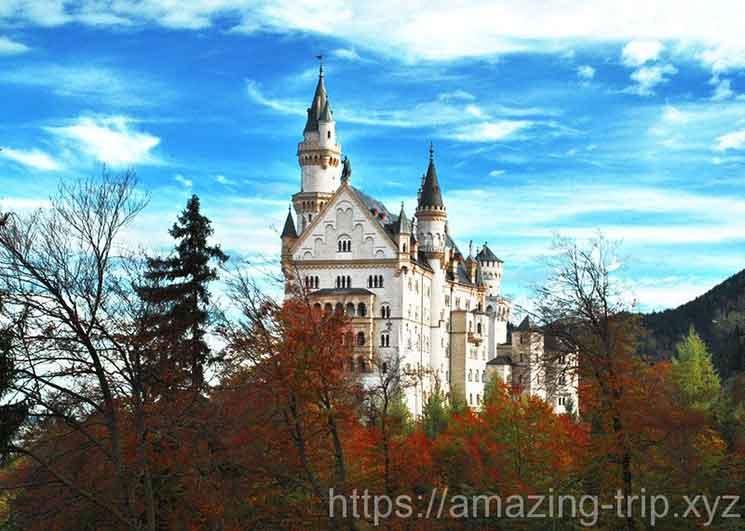 ノイシュヴァンシュタイン城の外観