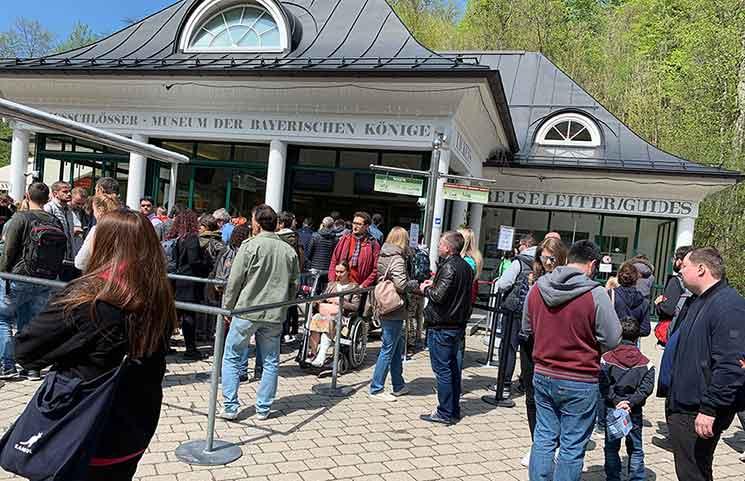 ホーエンシュヴァンガウのチケットセンター