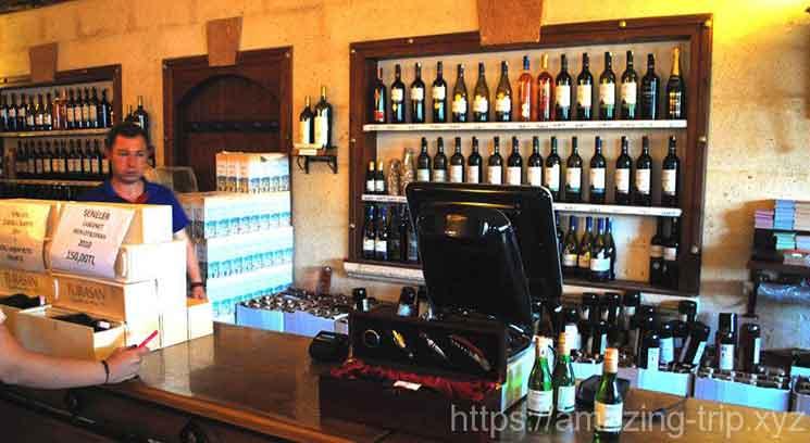ユルギャップのワイン工場