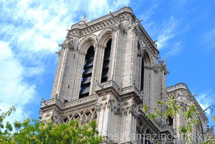 ノートルダム大聖堂 塔の景観