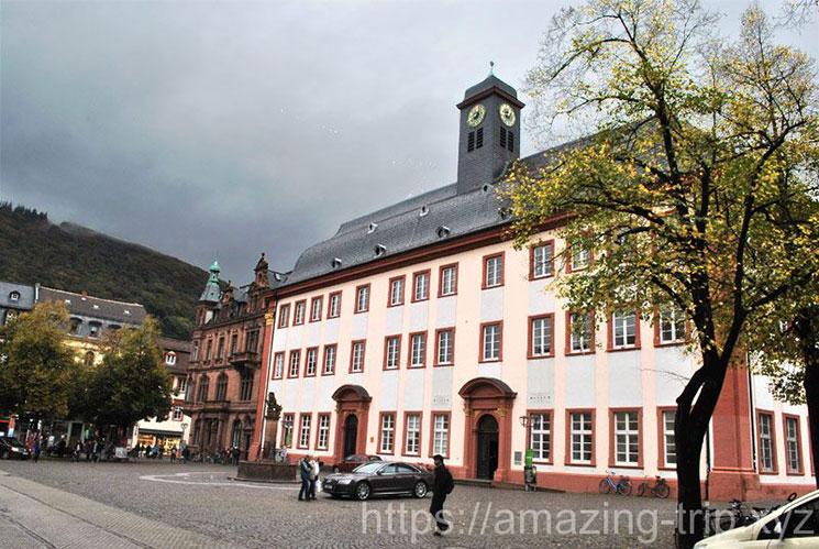 ハイデルベルク大学の旧校舎