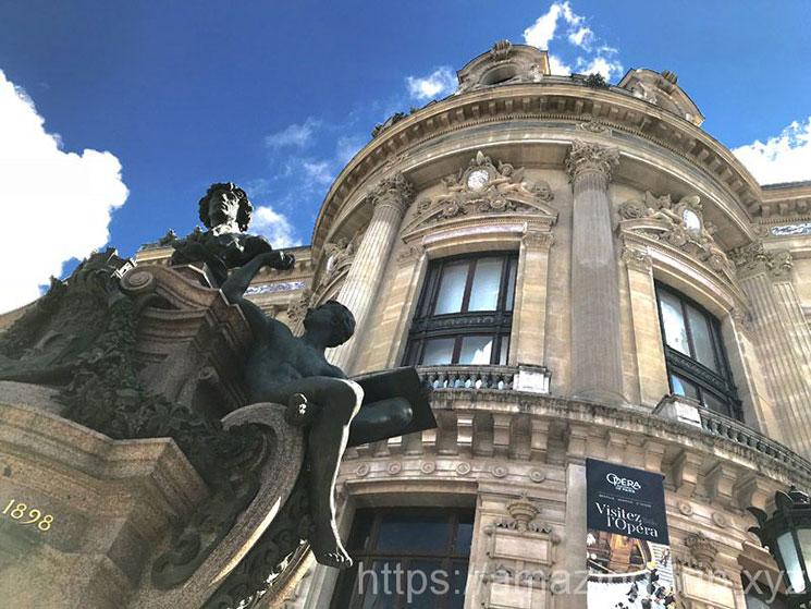 オペラ・ガルニエの入口