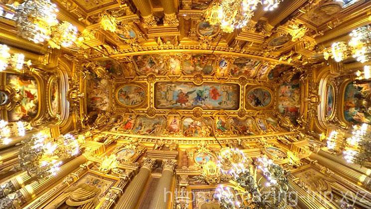 グラン・フォワイエの天井画