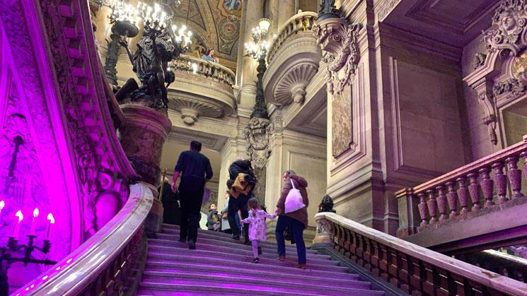 オペラ・ガルニエの大階段