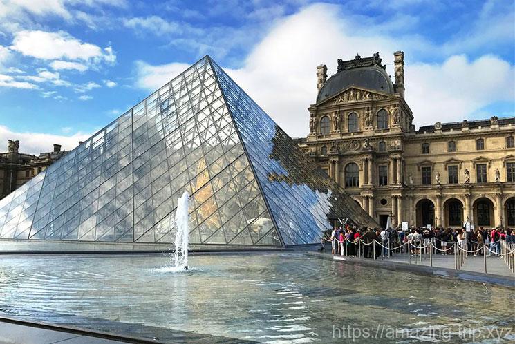 ルーブル美術館 ガラスのピラミッド