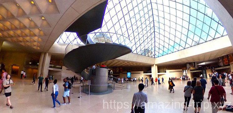 ナポレオンホールの景観
