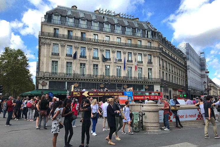 パリ オペラ座周辺のホテル