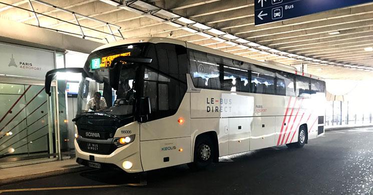 Le Bus Direct(ル・ビュス・ディレクト)のバス