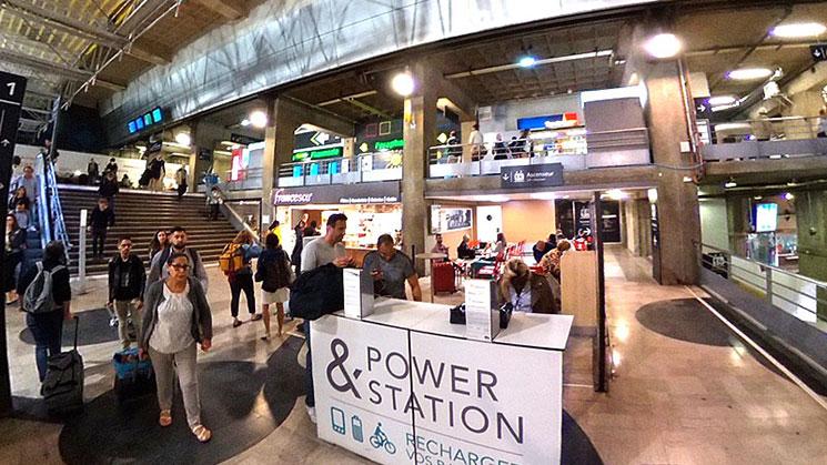 モンパルナス駅 地上1階