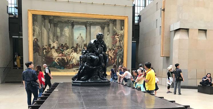 オルセー美術館 展示フロアの景観