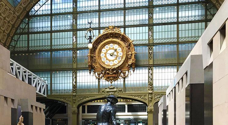 オルセー美術館 館内の大時計
