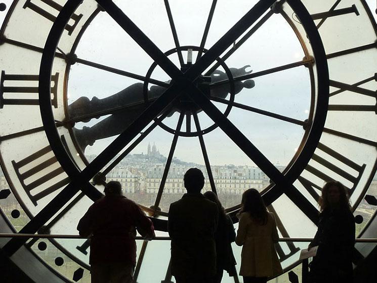 オルセー美術館 大時計