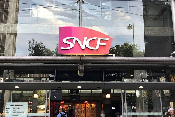 SNCF ターミナル駅の景観
