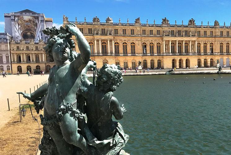 ヴェルサイユ宮殿の景観