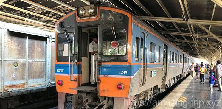 タイの国鉄列車