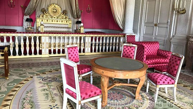 皇后の寝室(マリールイーズの部屋)