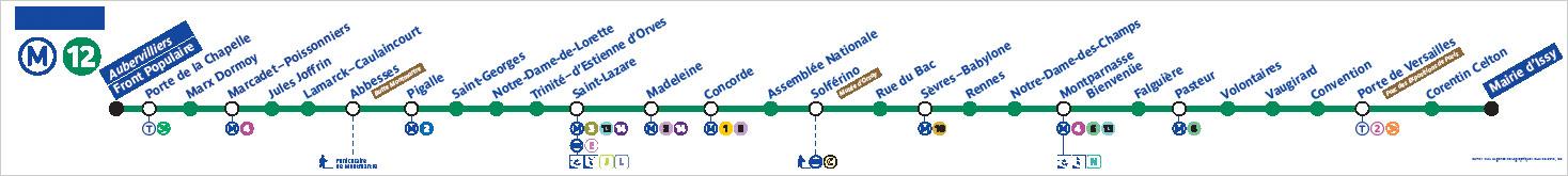 メトロ Line12