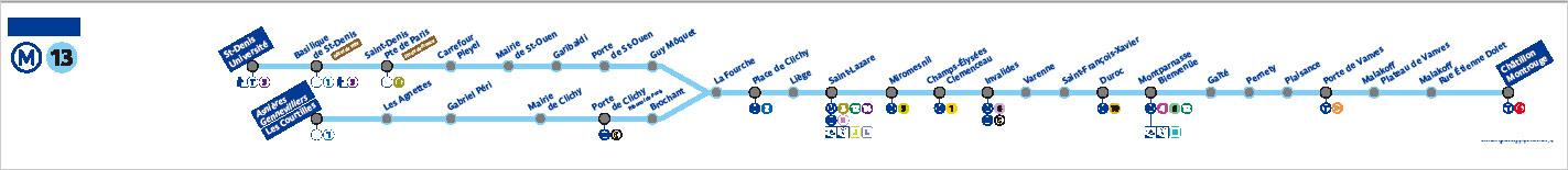 メトロ Line13