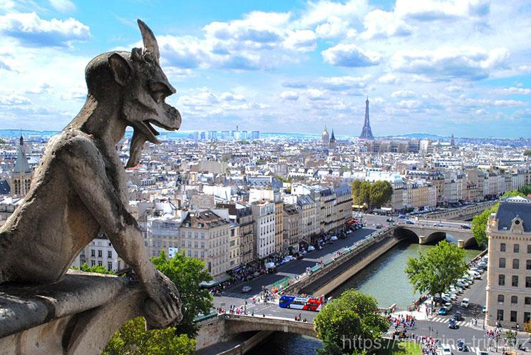 パリ市内の景観