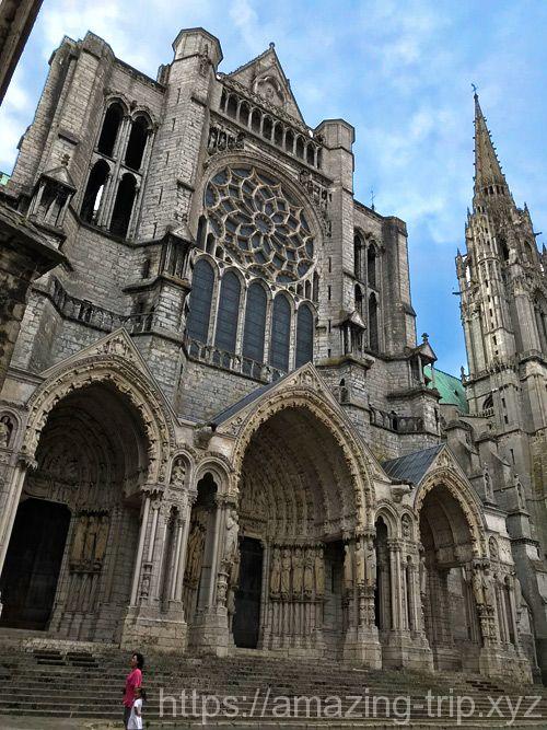 大聖堂 西側の景観