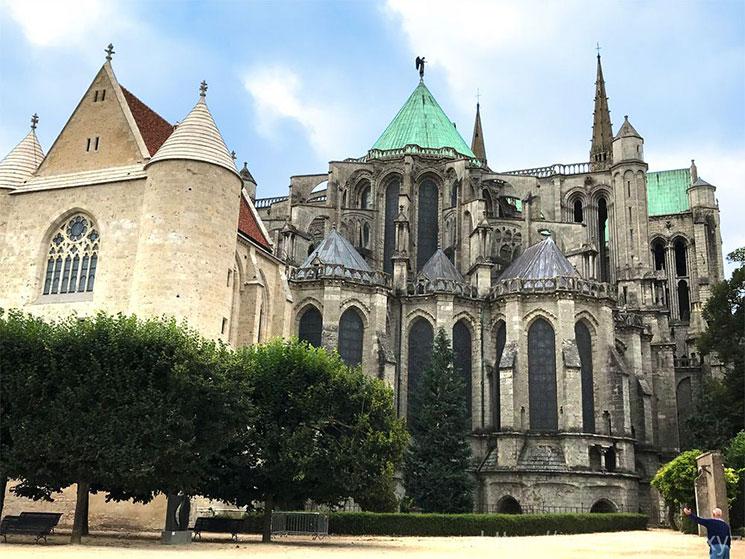 大聖堂 北側の景観