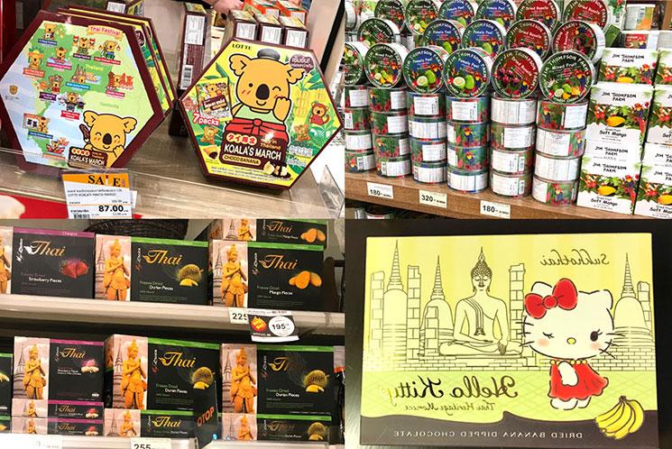 タイ バンコクで購入できるお土産