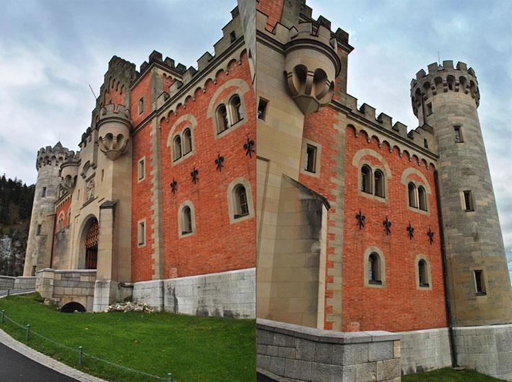 ノイシュヴァンシュタイン城の入口(正門)