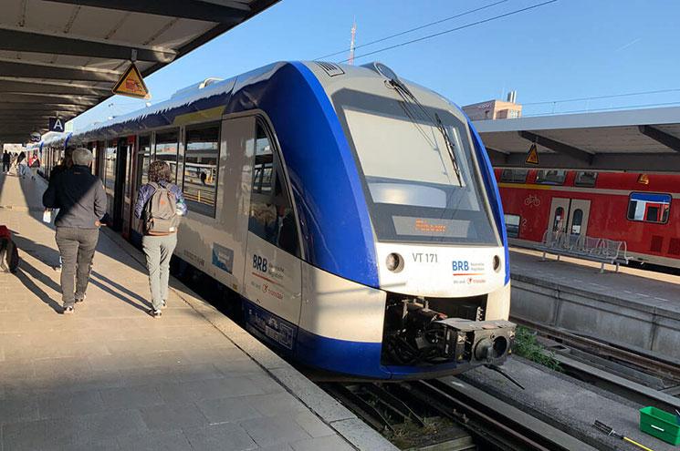 ミュンヘン駅発 バイエルン地域鉄道(BRB)