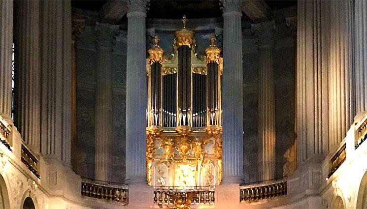王室礼拝堂のパイプオルガン