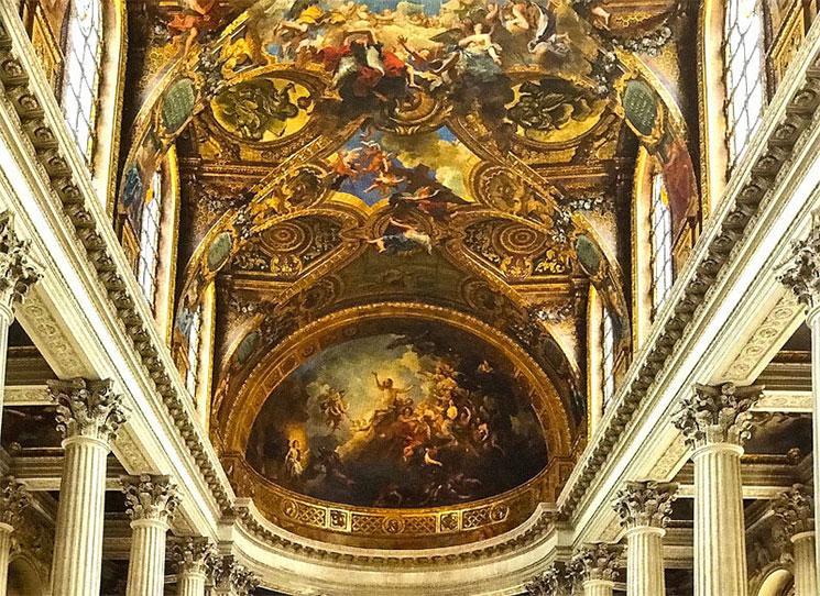 王室礼拝堂の天井画