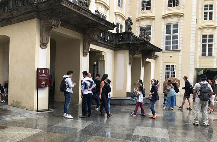 旧王宮の入口