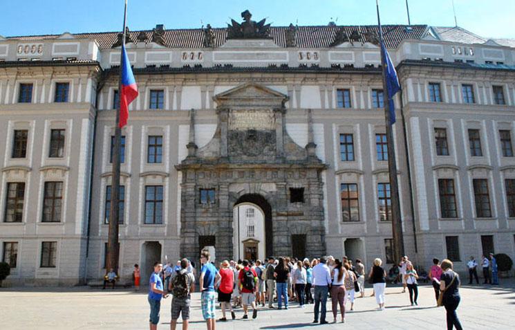 第1中庭とマティアス門