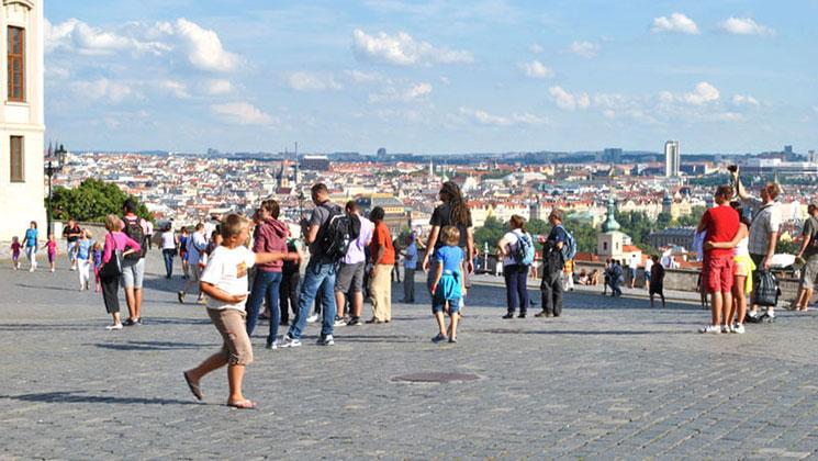 フラッチャ二広場 南側の景観